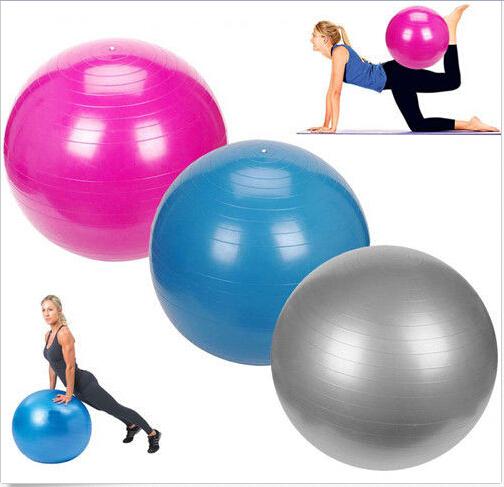 het hete verkopen 2015 55cm balans oefening yoga pilates fitness gym fitness bal aërobe buik h5014(China (Mainland))