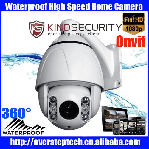 10X HD 1080P 2MP CCTV PTZ high speed dome IP camera,Onvif PTZ speed dome camera,Onvif IP Camera(China (Mainland))
