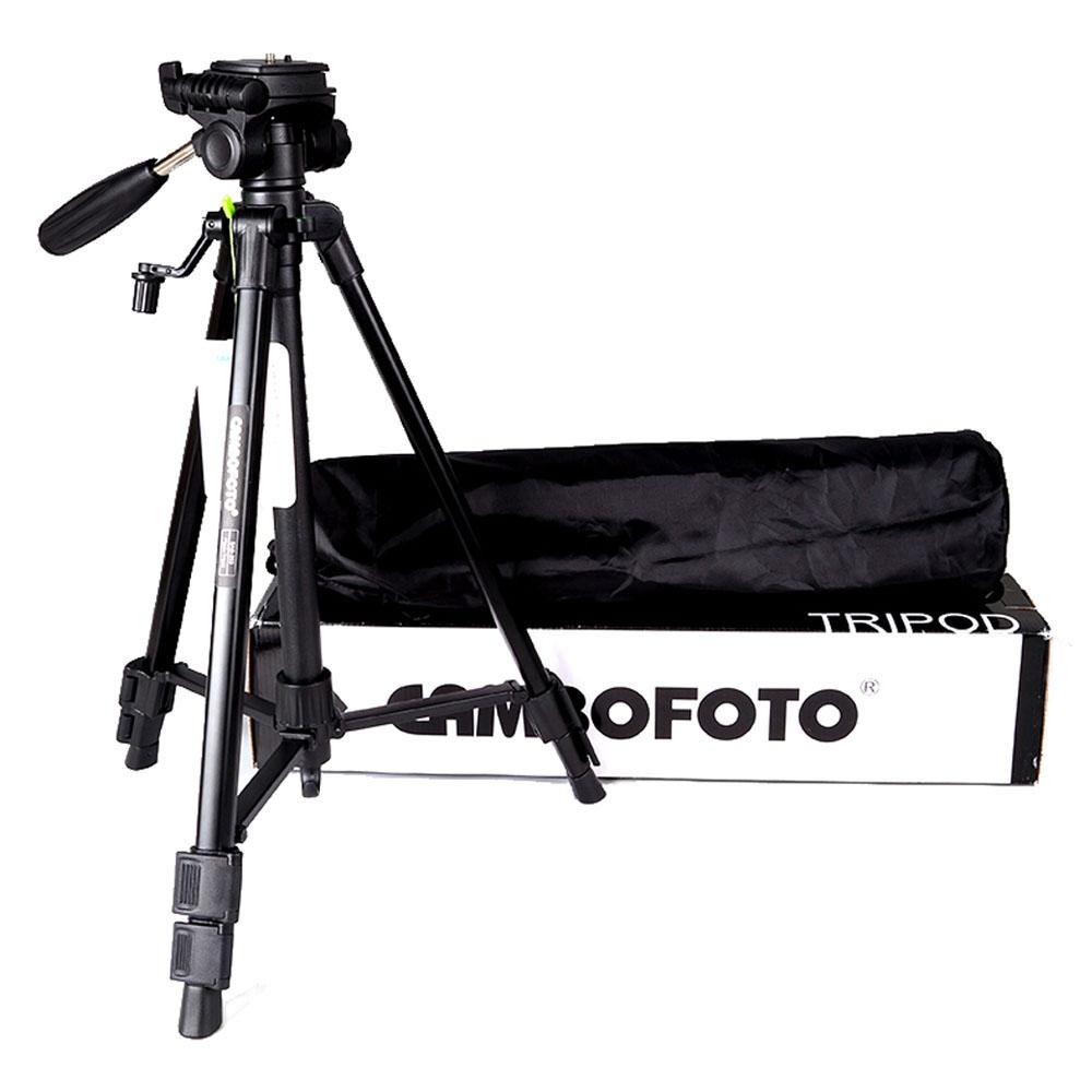 Portable Professional Tripod with Rocker Arm Ball Head Aluminium Alloy Travel Tripod for Nikon Canon DSLR Camera Camcorder(China (Mainland))