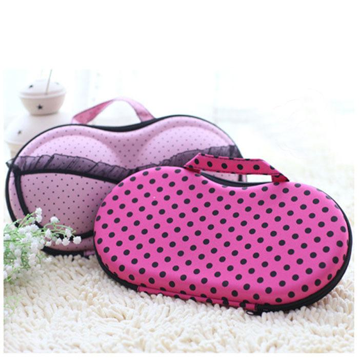 Vosicar Protect Bra Travel Organizer Bag Underwear Lingerie Case Storage Box Freeshipping EVA + Nylon(China (Mainland))