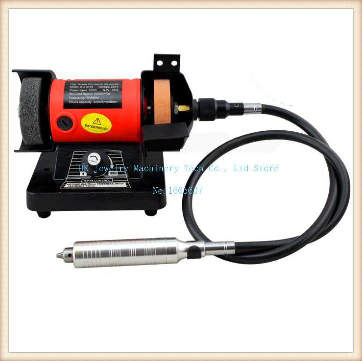 220V Double wheel grinding\polishing machine\electric bench grinder\pivots polishing machine(China (Mainland))