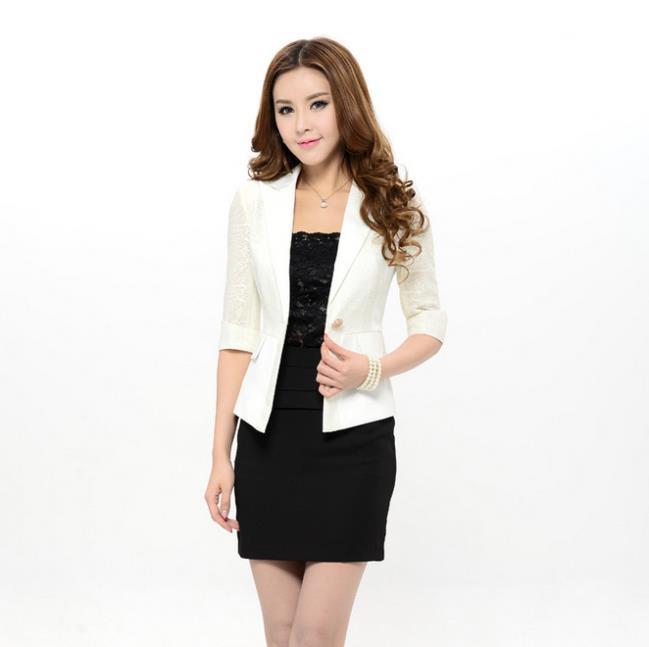 Весна осень формальные женский черный пиджак дамские куртки тонкий мода дамы пиджак Feminino офис едином стиле рабочая одежда