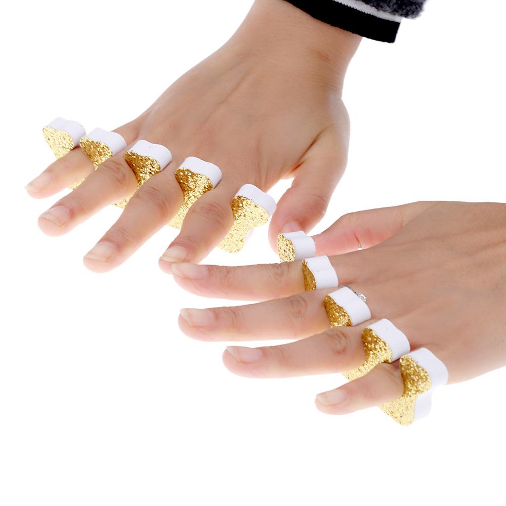 10Pair Toe Separator Soft Foam Nail Tools Finger Separator Feet Care Tool separador de gel(China (Mainland))