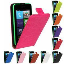 Retro Book Luxury PU Leather Case Flip Cover Phone Flip vertical cover bag  For Nokia LUMIA 530 N530