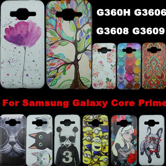 Taken For Samsung Galaxy Core Prime G360 G360H G3606 G3608 G3609 PC hard Plastic Case Mobile