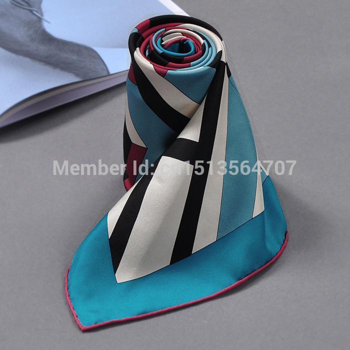 Original Box TOP Design Brand H Brand Scarf HIGH Quality Lady Scarves Women Silk Pashmina ,high-end 100% Silk,90*90CM(China (Mainland))