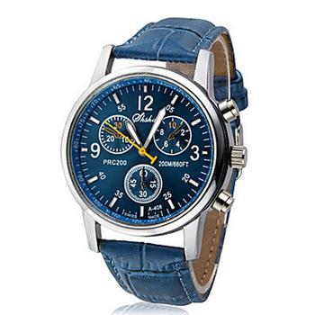 2015 новинка бизнес кварцевые часы мужчины спортивные часы мужчины кориум кожаный ремешок армии наручные часы