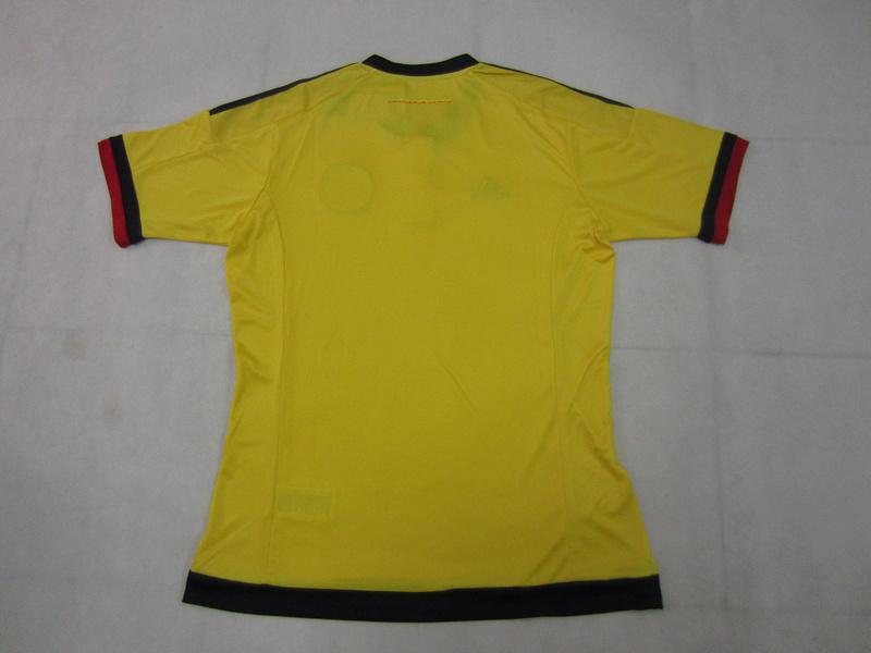 freeshipping 2015 2016 toppest thai quality colombia football jerseys colombia futbol shirts factory wholesale football jerseys(China (Mainland))