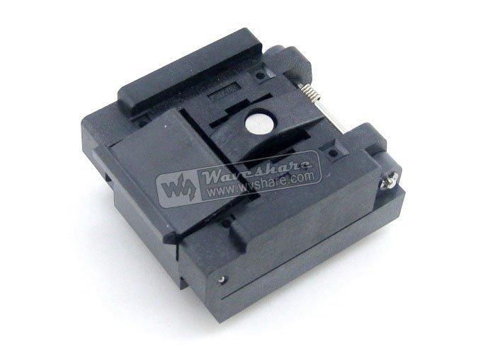 Электронное производственное оборудование QFN32 MLP32 MLF32 QFN/32b/0,65/02 Enplas QFN 7 x 7 0.65pitch IC QFN-32(40)B-0.65-02 max98400b 98400b qfn