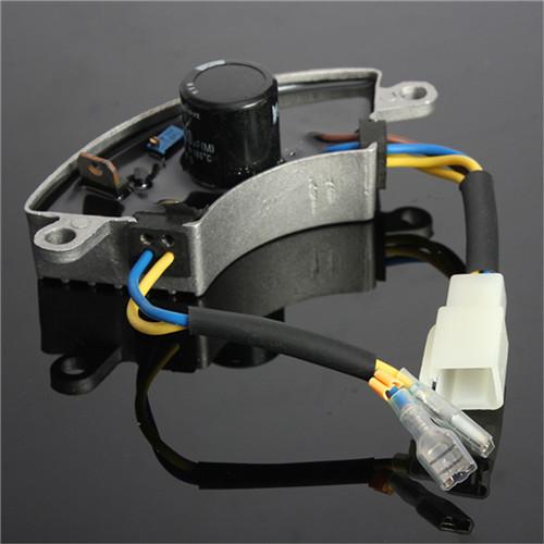 Shockproof 2-3KW Generator Petrol Automatic Voltage Regulator AVR Aluminum Shell(China (Mainland))