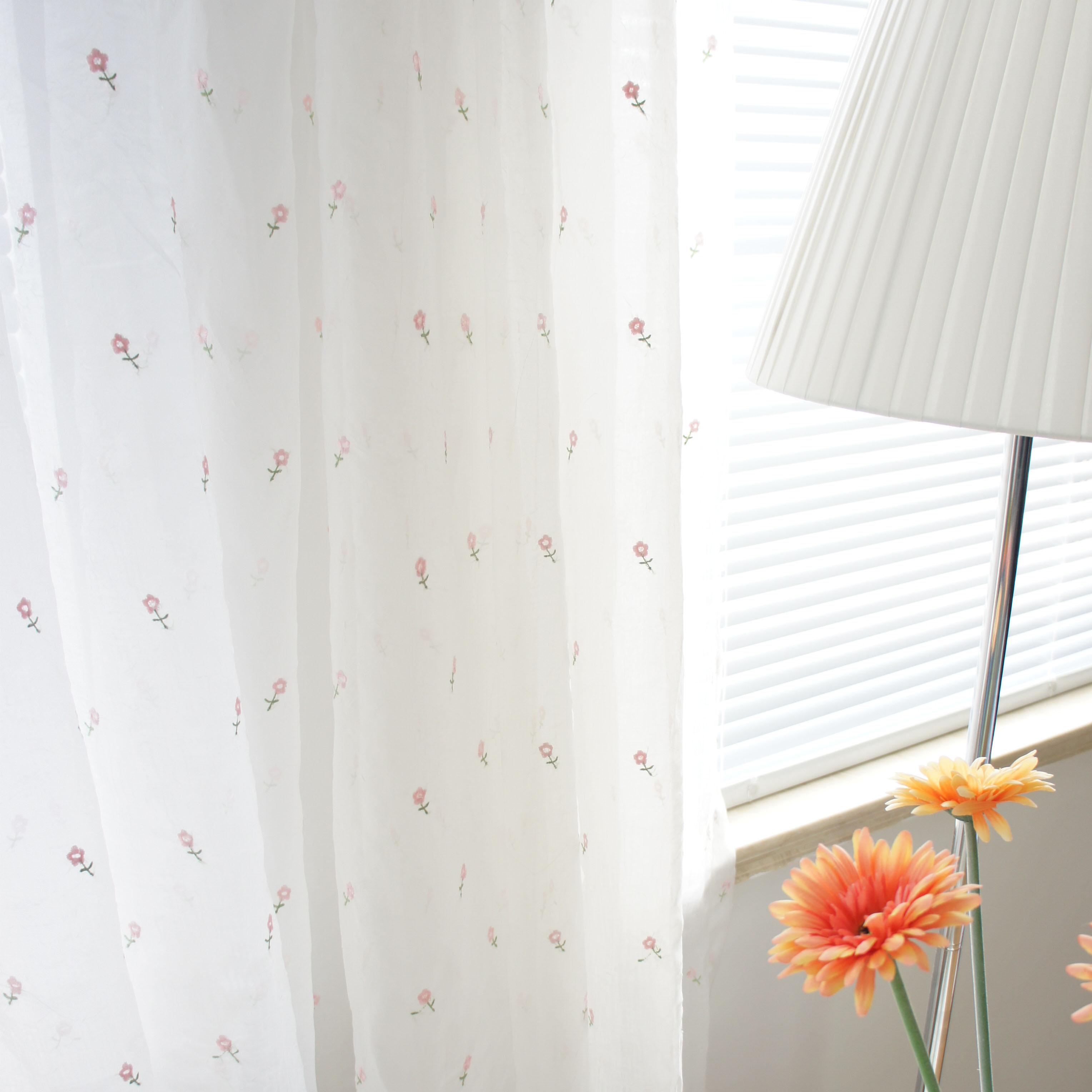 Balcon qualit petite brod voile rideau blanc sheer - Rideaux pour balcon ...