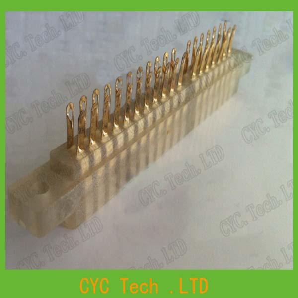 5pcs/Lot Gold-plated CY401-36Pin Connector 3.96mm Pitch 2x18 Row PCB Slot Solder Socket(China (Mainland))