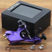 New Purple 1pcs Upgrade Zinc Alloy Rotary Motor Tattoo Machine Gun Liner Shader(China (Mainland))