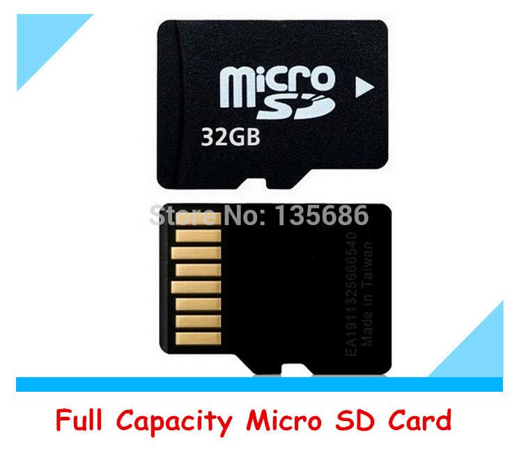 Real Capacity Micro SD Card Memory Card 32GB 16GB 8GB 4GB 2GB 128MB TF Card Flash Memory Free Gift Adapter + TF Card Reader(China (Mainland))