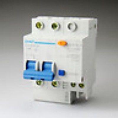 10pcs DZ47LE-32 2p C16 16A 230V Earth Leakage Protection Circuit Breaker(China (Mainland))