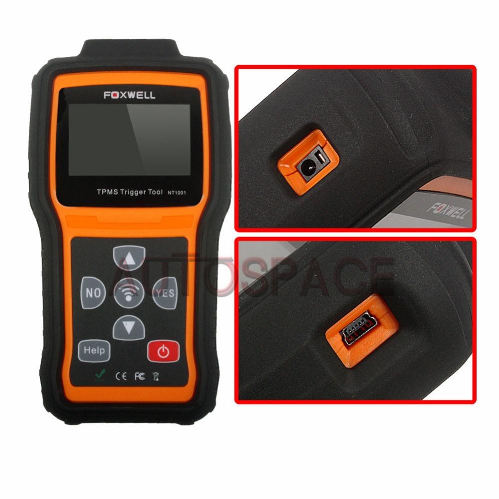 Универсальный TPMS Датчик FOXWELL NT1001 Диагностический Сканер Обновление Онлайн Бесплатная Доставка tpms