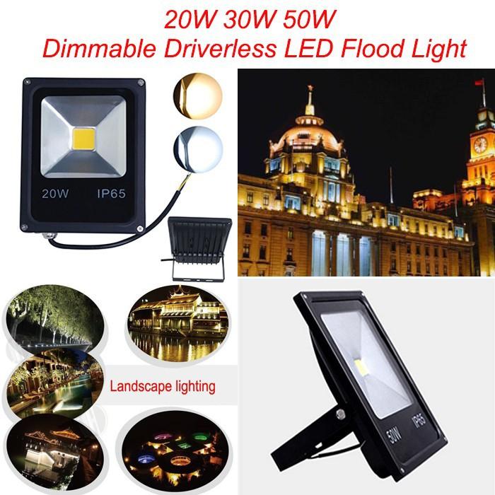 100W 150W 200W 250W Dimmable LED Flood Light,Cheap High Power LED Garden Spotlight Waterproof 220-265V LED Landscape Floodlight(China (Mainland))