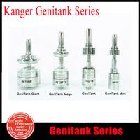100% Original Kanger Genitank Mini Mega Giant Atomizer Dual Coil 1.3ml 2.4ml 3.8ml 4.5ml Airflow Control Rebuildable E cigarette