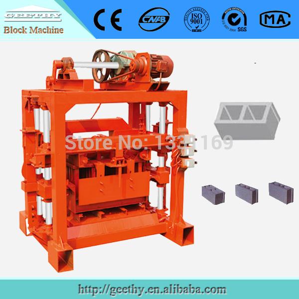 QTJ4-40B2 small stationary block machine(China (Mainland))