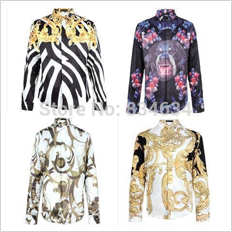 Shirt Tuxedo Print Show 3d Print Men Shirt