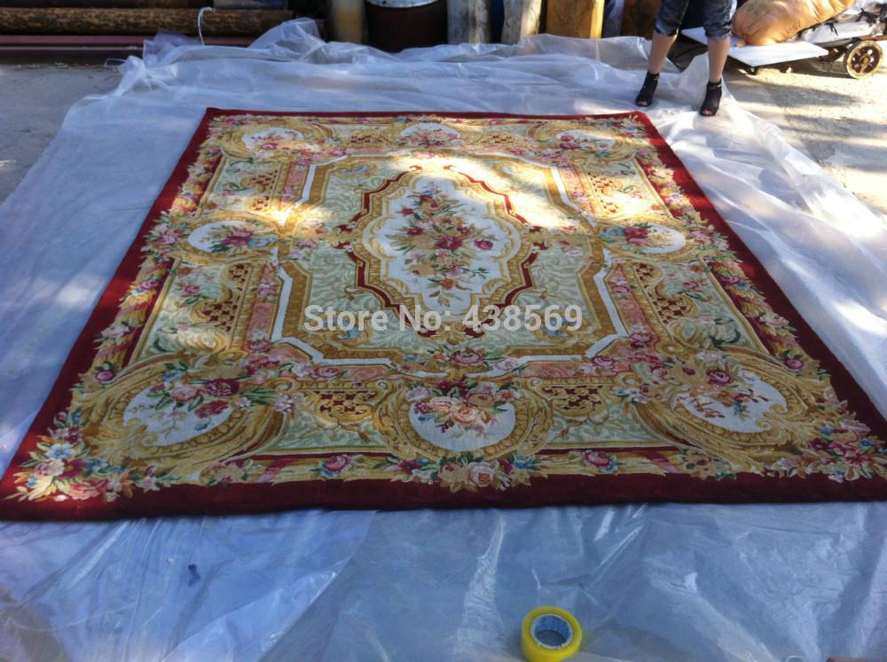 livraison gratuite 8 x10 90 ligne savonnerie tapis nou 233 s 224 la tapis royale tapis de style