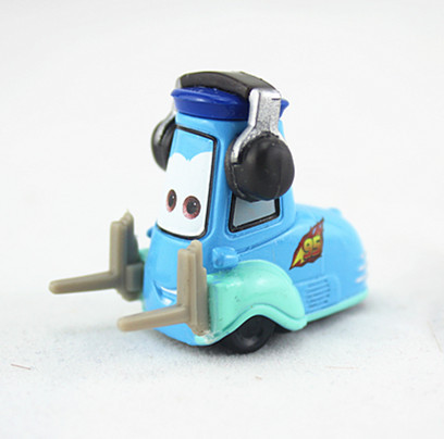 New 1:55 Pixar Cars Diecast Guido With Headsets Metal Kid Toy Car Free Shipping Loose(China (Mainland))
