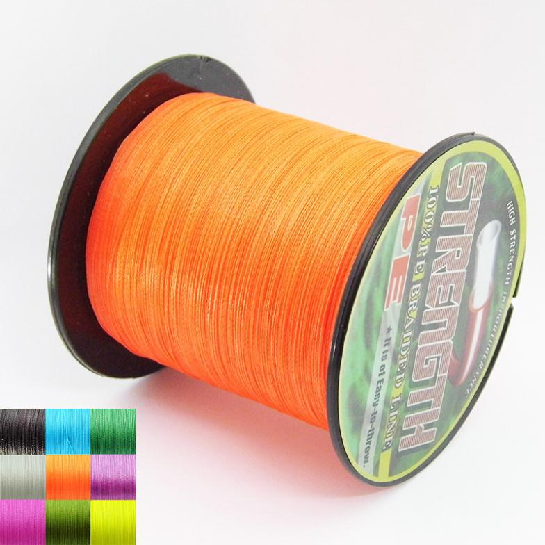 online fishing store 300M PE Braided Fishing Line 4 Strands 6-80 LB Pesca Daiwa Braided Wire PE Fly Ice Carp Fishing Lines Wire(China (Mainland))