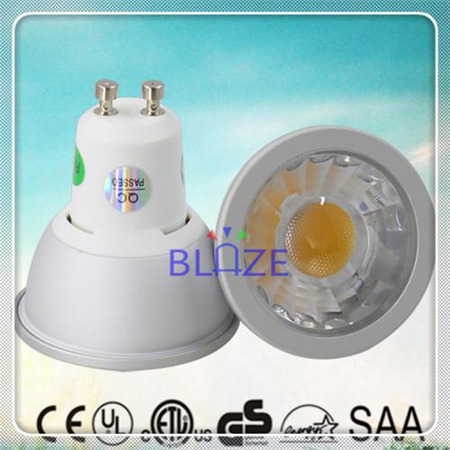 CE SAA 120V 230V AC Dimmable GU10 led 7W COB LED Spot lighting 7 Watt 3 Years Warranty 50pcs/Lot(China (Mainland))