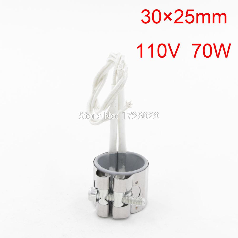 Reasonable Price Band Heater 30 x 25mm 110V 70W(China (Mainland))