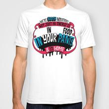 Koch In Your Pants 2015 New Fashion Men and women T-shirts Short Sleeve Tshirt Cotton t shirts Free Shipping(China (Mainland))