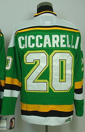 Discount Hockey Jerseys Stars 20 Ciccarelli Green jerseys CCM Men's Stitched Dallas Green Ciccarelli Hockey Jersey(China (Mainland))