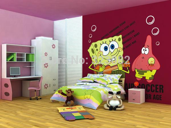 Online kopen wholesale wall paper baby girl uit china wall paper baby girl groothandel for Kamer decoratie meisje