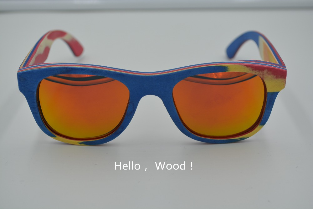 Mouse over image to zoom Retro Vintage Sunglasses Wooden Wood Mens Womens Polarized UV Protected Glasses wg6(China (Mainland))