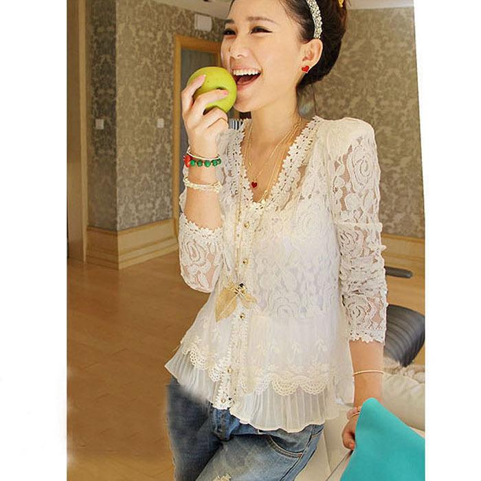 Женские блузки и Рубашки Alipower 2015 Blusas Femininas XXL женские блузки и рубашки summer blouse blusas femininas 2015 roupas s