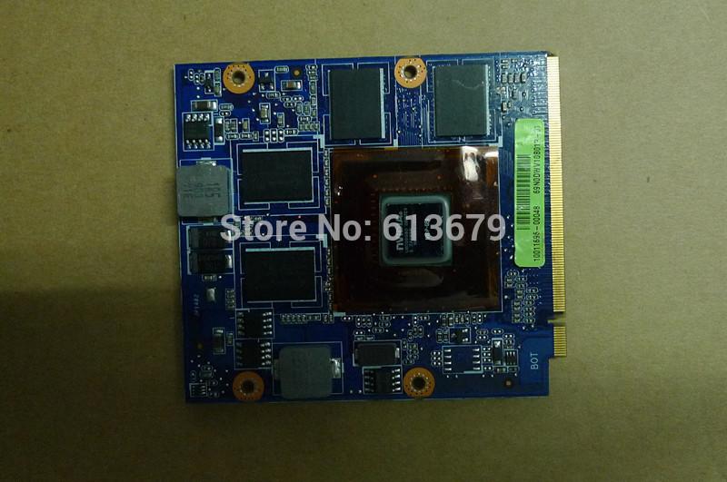 Видеокарта для ПК For asus n10p/ge1 1GB DDR3 mxm/ii VGA Asus VX5 69n0dwv10b01p/01 nVidia Geforce GT 130M N10P-GE1 for asus n53sv n53sm n53sn original laptop motherboard mainboard nvidia gt540m and 2 ram slots rev 2 0 1gb free shipping