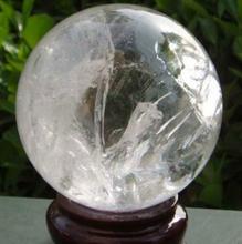 Природный ясно кварцевый радуга сфера бал 55 мм