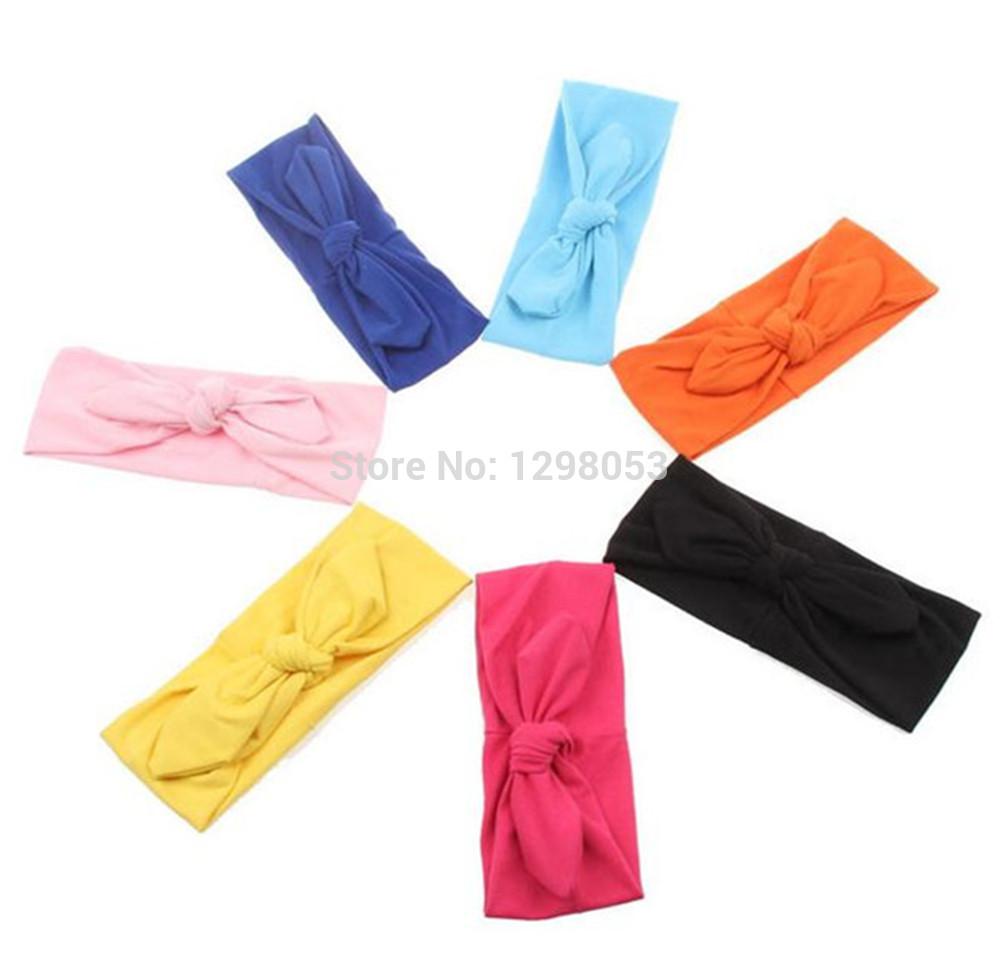 10 Colors Women Stretch Twist Headband Turban Sport Yoga Head Wrap Bandana Headwear Hair Accessories Free Shipping JE419(China (Mainland))