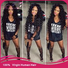 sexy formula hair 3 Pcs Lot brazilian deep curly virgin hair 6a cheap brazillian deep wave unprocessed human hair elfin hair(China (Mainland))