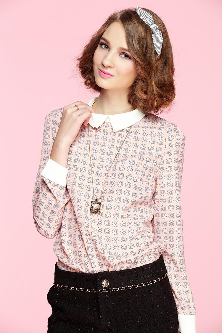 Модные Блузки Для Женщин 2015 Доставка