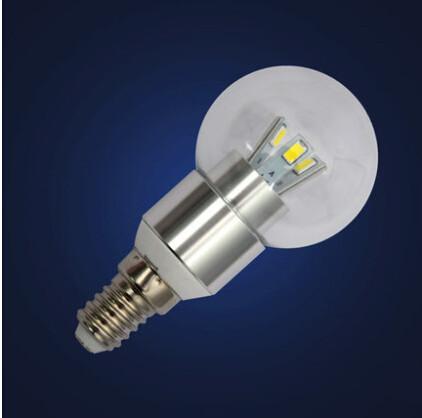 1x Bubble Ball Bulb LED dimmable corn bulb candle AC110V-220V 3W 6W 9W 15W E14 E27 E12 SMD5730 High power Globe light LED Light(China (Mainland))