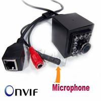 720P WIFI Mini IR Camera Indoor 940nm Led Wireless WIFI Ip Camera Audio Pinhole Smallest Night Vision for 1.0 Megapixe HI3518E