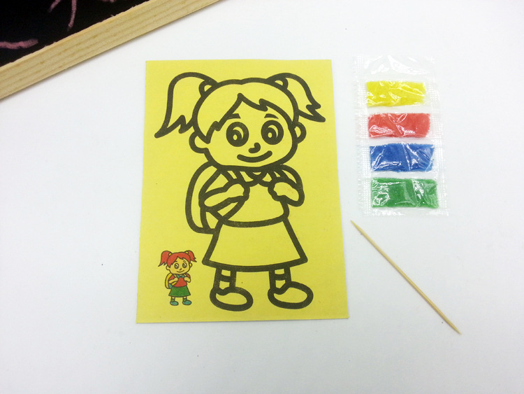 Online Lots Drawing 50pcs/lot 9*12cm Baby Drawing