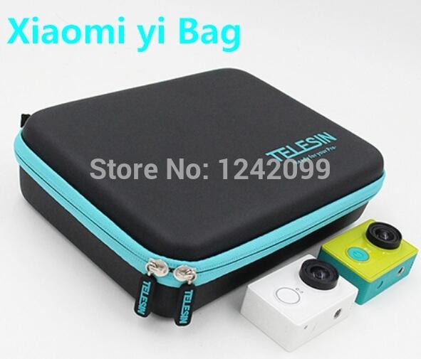Xiaomi yi Accessories Portable Bag Case Medium Ride Storage Bags Waterproof Bag For Xiaomi yi Camera Free Shipping(China (Mainland))