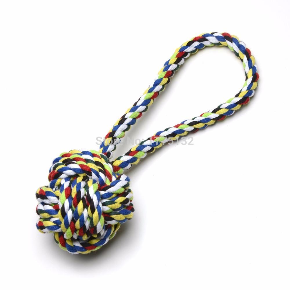Monkey Knot Dog Toy Knot Rope Ball Dog Toy