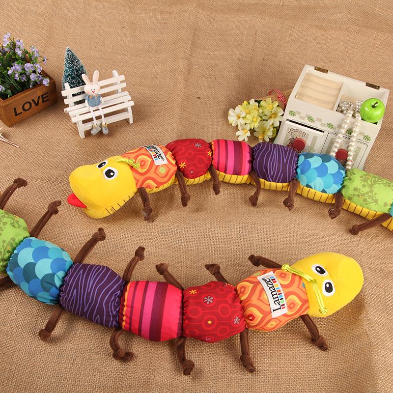 newborn toy multifunctional music caterpillar belt foot height bb device rattles(China (Mainland))