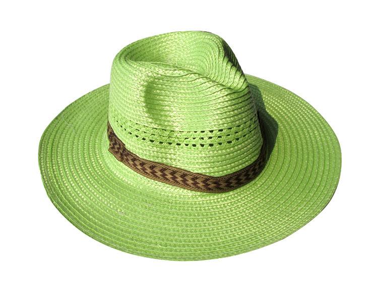 Cool jazz hat straw hat men travel decorative flat cap visor cap farm farmer working cap(China (Mainland))