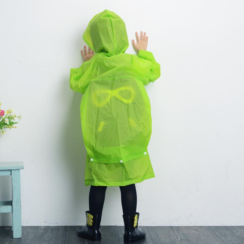 Eva зеленый дети плащ, Дети риан clother перейти к школа школьный дети на открытом воздухе дождевики