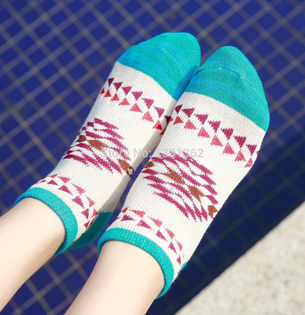 Hot Sale New Arrival 5 pairs/lot Four Seasons General Women's Cotton Socks Kit Solid Mini Striped Pattern Brand Women's Sock Kit(China (Mainland))