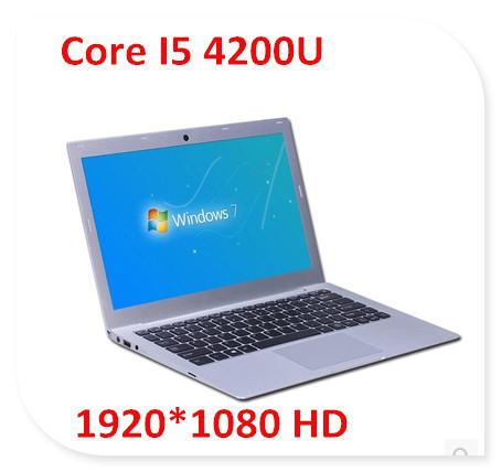 Ноутбук GMOLO 13.3 Intel Core I5 4200U 1920 * 1080 HD ultrabook 4 128 SSD USB 3.0 HDmi I5-46 new intel core i3 7100u i5 7200u fanless intel skylake mini pc intel hd graphics 620 4k hdmi vga usb3 0 sd card desktop computer
