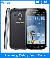 Refurbished Original Samsung Galaxy Trend Duos S7562 4.0 inch 4GB ROM Android 4.0 Snapdragon MSM7227A 1.0GHz Dual SIM 3G Phone